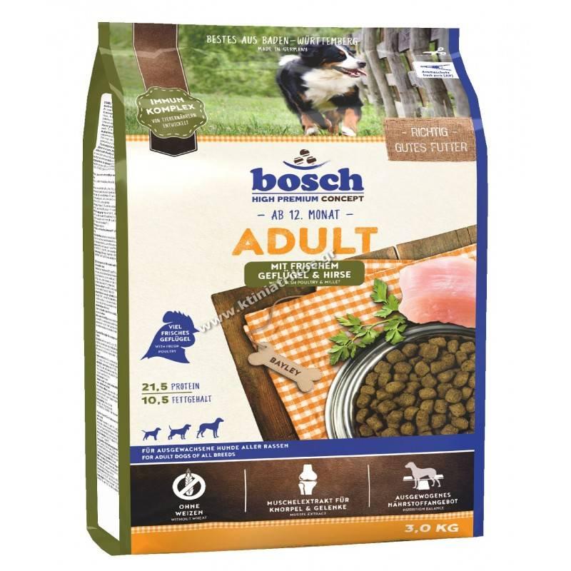 Bosch Adult Fresh Poultry & Millet 3Kg