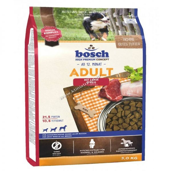 Bosch Adult Lamb & Rice 3Kg