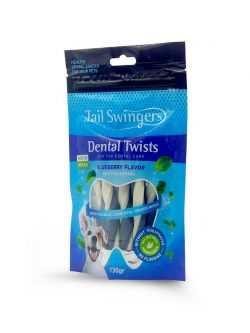 DENTAL TWISTS BLUEBERRY FLAVOR