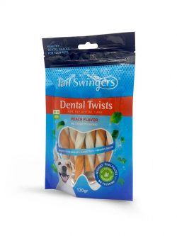 DENTAL TWISTERS PEACH