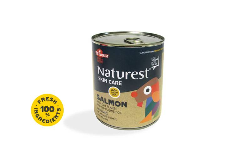 SKIN CARE WITH SALMON AND OAT FLAKES 400gr