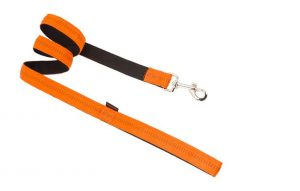 DOUBLE LAYER LEASH WITH SOFT FILLING