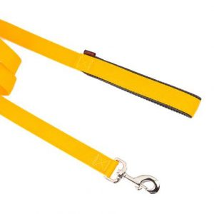 SINGLE LAYER LEASH WITH NEOPRENE HANDLE