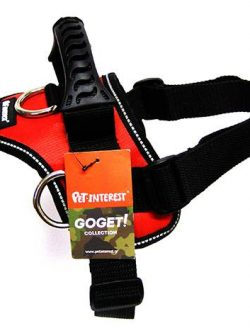 GOGET HARNESS RED 3 D-RINGS M