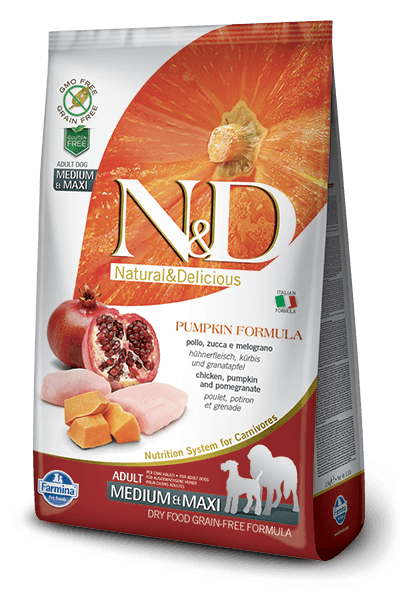 CHICKEN AND POMEGRANATE ADULT MEDIUM & MAXI 2.5kg
