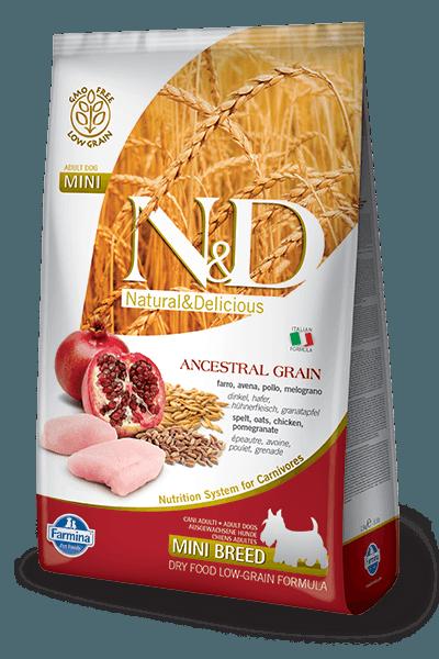 CHICKEN & POMEGRANATE ADULT MINI 2.5kg