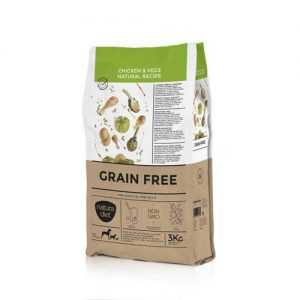 NATURA DIET GRAIN FREE CHICKEN & VEGS NATURAL RECIPE 3KG