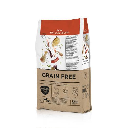 NATURA DIET GRAIN FREE BABY NATURAL RECIPE 3KG