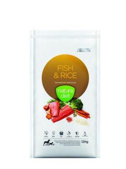 NATURA DIET FISH & RICE 500gr
