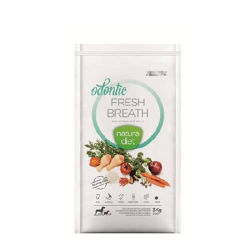 NATURA DIET ODONTIC FRESH BREATH 500gr