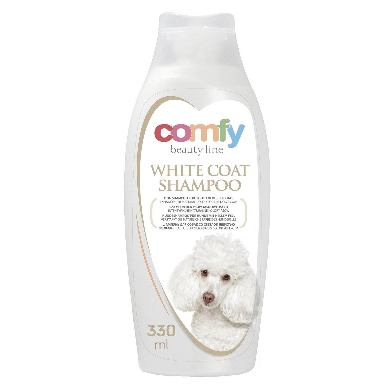 COMFY WHITE DOG shampoo visual