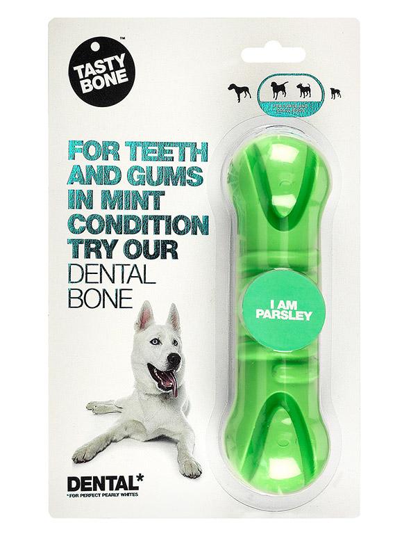 tb 0000s 0083 820010 TastyBone Dental Bone Medium Parsley PACK