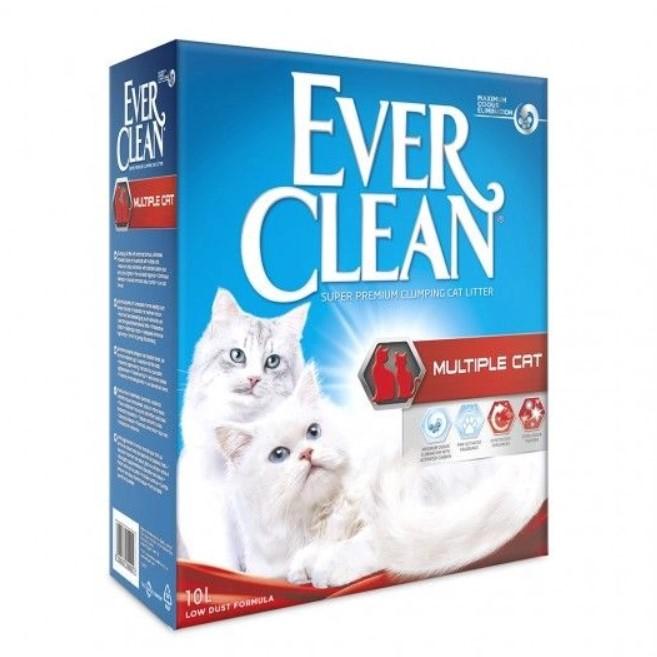 everclean multiple cat