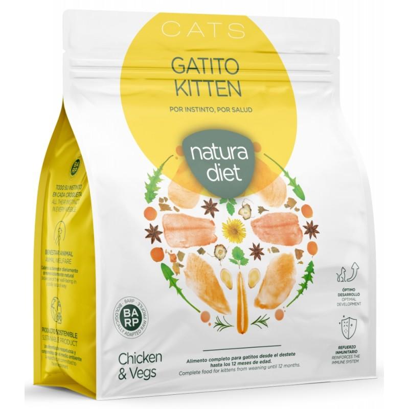 Natura diet Kitten 400Gr